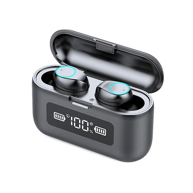 LITBest 281 Auricolari wireless Cuffie TWS Bluetooth5.0 HIFI Con la scatola di ricarica Impermeabile IPX7 per Apple Samsung Huawei Xiaomi MI Affari d'ufficio