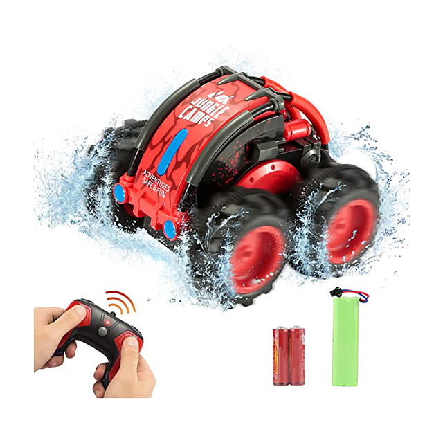 Toy Car Remote Control Car High Speed Rechargeable 360° Rotation Remote Control / RC Double Sided Buggy (Off-road) Stunt Car Racing Car 2.4G For Kid's Adults' Gift