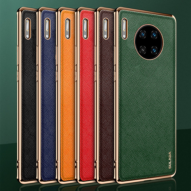 Phone Case For Huawei Back Cover HUAWEI P40 HUAWEI P40 Pro Mate 40 Mate 40 RS Porsche Design Mate 40 Pro Mate 30 Mate 30 Pro Shockproof Dustproof Solid Colored TPU