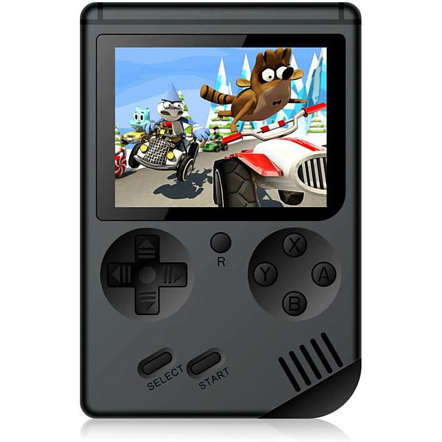 500 Games in 1 Consoles de Jeu Portative Console de jeu Rechargeable Mini poche portable portable Prise en charge de la sortie TV 2 joueurs Jeux vidéo rétro avec 3 pouce Écran Enfant Adulte Garçon