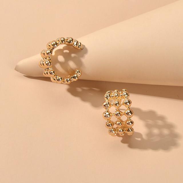 Women's Stud Earrings Geometrical Fashion Trendy Earrings Jewelry Gold / Silver For Date