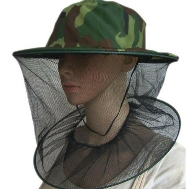 Chapeau d'apiculture professionnel moustique insecte insecte protecteur extérieur résistance aux abeilles net maille tête casquette