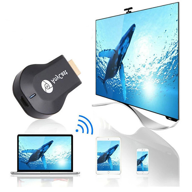 anycast m9 plus hdmi 2.0 wireless hdmi extender trasmettitore wifi display dongle dina airplay miracast