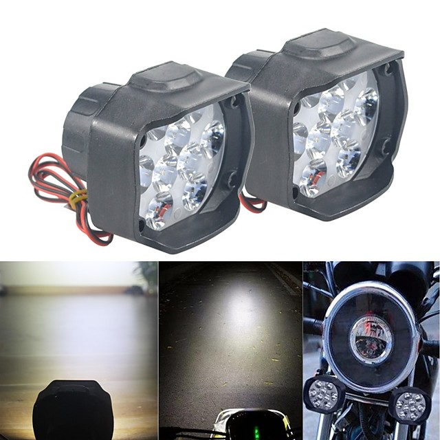 Motorcycle LED Headlamps Light Bulbs 30 W 9 For Motorcycles All years 2pcs