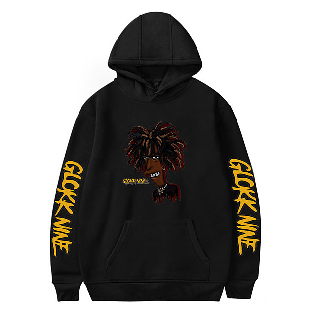 Inspired by Cosplay 9lokkNine Polyester / Cotton Blend Cosplay Costume Hoodie Printing Graphic Hoodie For Men's / Women's