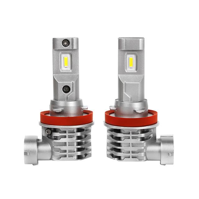 Automatique LED Lampe Frontale H4 / H11 / 9005 Ampoules électriques 3200 lm 25 W Pour Universel Toutes les Années 2 pièces