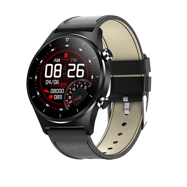 Missyou E13 Men Women Smartwatch Android iOS Bluetooth Waterproof Heart Rate Monitor Sports Smart Blood Oxygen Measurement Stopwatch Pedometer Activity Tracker Sedentary Reminder Exercise Reminder
