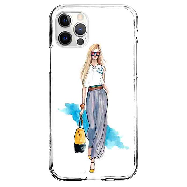 Characters Case For Apple iPhone 12 iPhone 11 iPhone 12 Pro Max Unique Design Protective Case Pattern Back Cover TPU