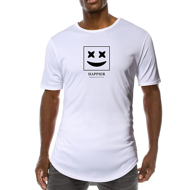 Men's Unisex T shirt Hot Stamping Cartoon Graphic Prints Plus Size Print Short Sleeve Daily Tops Casual Fashion White Wine Army Green