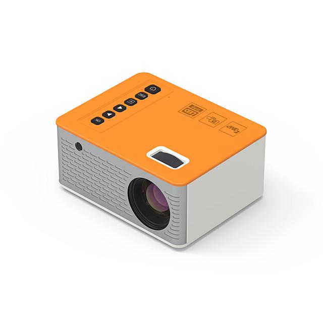 28D Mini projecteur Projecteur LED 50 lm Correction trapézoïdale