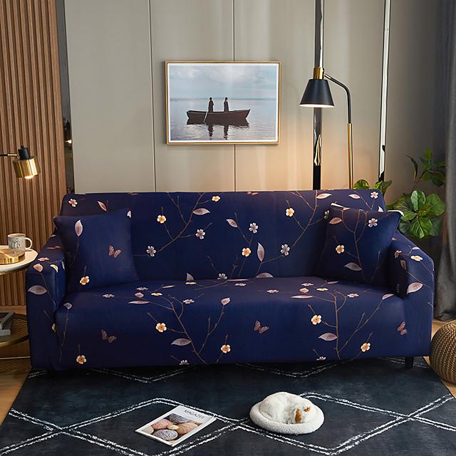 غطاء أريكة طباعة مصبوغ بخيط الغزل بوليستر الأغلفة