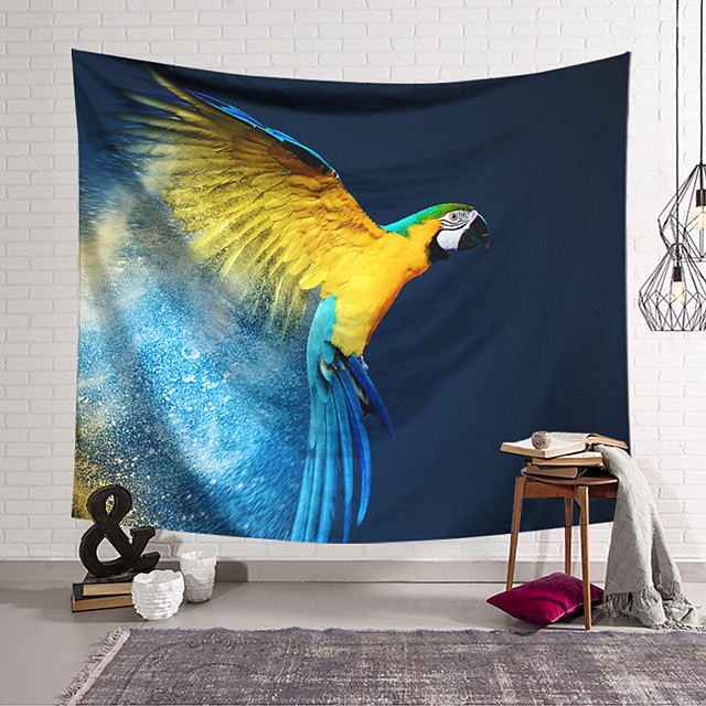 Wall Tapestry Art Decor Blanket Eagle Curtain Hanging Home Bedroom Living Room Decoration and Modern and Animal