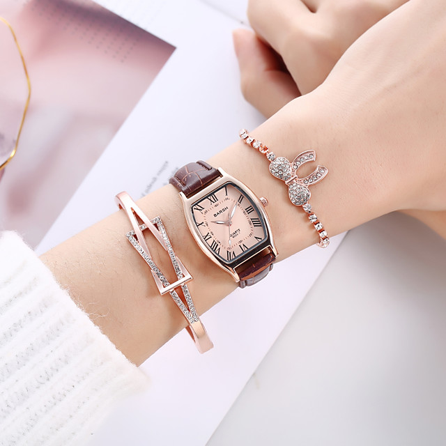 Quartz Watches Analog Quartz Stylish Minimalist Creative / PU Leather