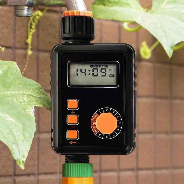 جهاز التحكم في توقيت الري الأوتوماتيكي في الحديقة ، نظام الرش الذكي في الهواء الطلق ، مجموعة الري بالمطر ، جهاز الري
