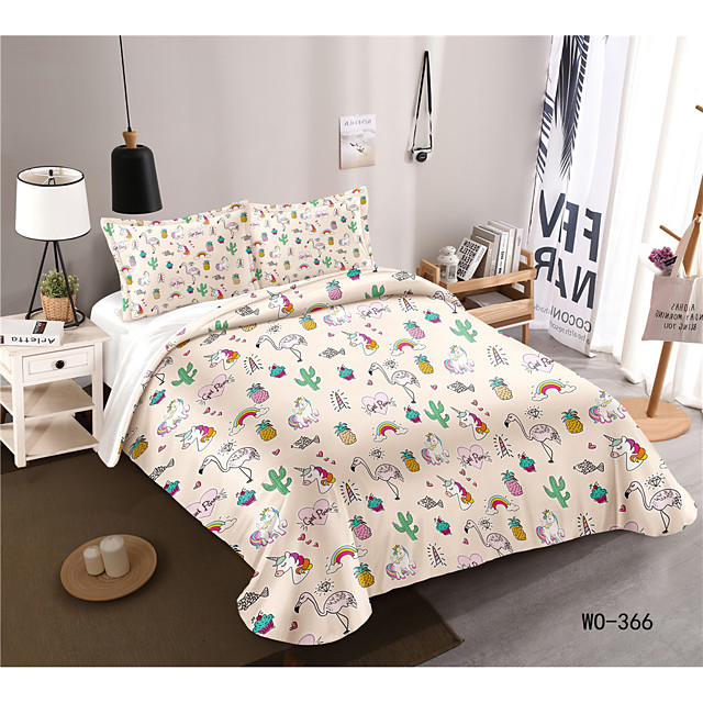 3-Piece Duvet Cover Set Hotel Bedding Sets Comforter Cover with Soft Lightweight Microfiber, Include 1 Duvet Cover, 2 Pillowcases for Double/Queen/King