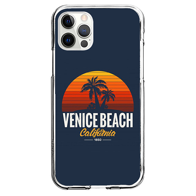 Coastal Case For Apple iPhone 12 iPhone 11 iPhone 12 Pro Max Unique Design Protective Case Pattern Back Cover TPU