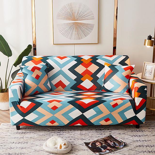 أنيقة البساطة طباعة غطاء أريكة تمتد الأريكة الغلاف الغلاف سوبر لينة النسيج الرجعية الساخن بيع غطاء الأريكة