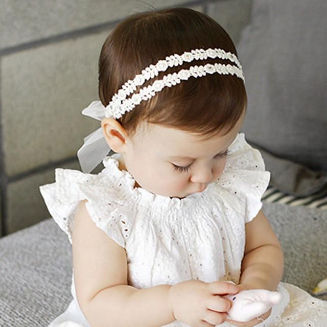 للفتيات من أجل حفلة عيد ميلاد مهرجان ورقة قماش أبيض 1PC