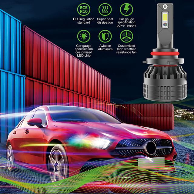 OTOLAMPARA Automatique LED Lampe Frontale H7 / H4 / H11 Ampoules électriques 13000 lm LED Intégrée 130 W 2 Pour Volkswagen / Toyota / Nissan Voyou / NX / Silverado 2018 / 2008 / 2009 2 pièces