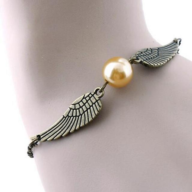 Bracelet Classic Wings Stylish Simple Alloy Bracelet Jewelry Gold / Silver For Date Festival