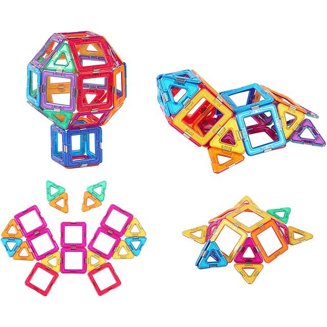 Blocs Magnétiques Carreaux magnétiques Blocs de Construction Briques de construction 64 pcs Mode Automatique Transformable Jouets de construction Garçon Fille Jouet Cadeau / Enfant