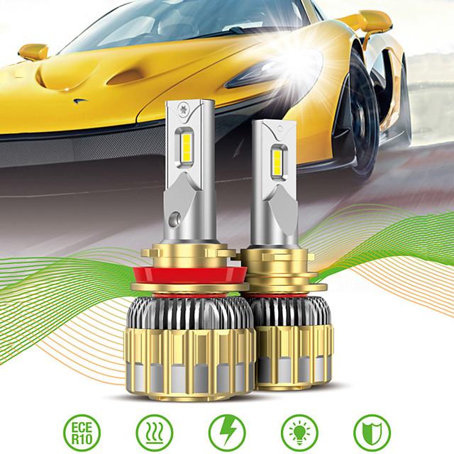 OTOLAMPARA سيارة LED مصباح الرأس / ضوء السيارة كانبوس H13 / 9007 / H7 لمبات الضوء 11000 lm LED مدمج 120 W 2 من أجل فولكسواجن / تويوتا / نيسان محتال / سيلفرادو / CR-V 2018 / 2008 / 2009 2 قطع