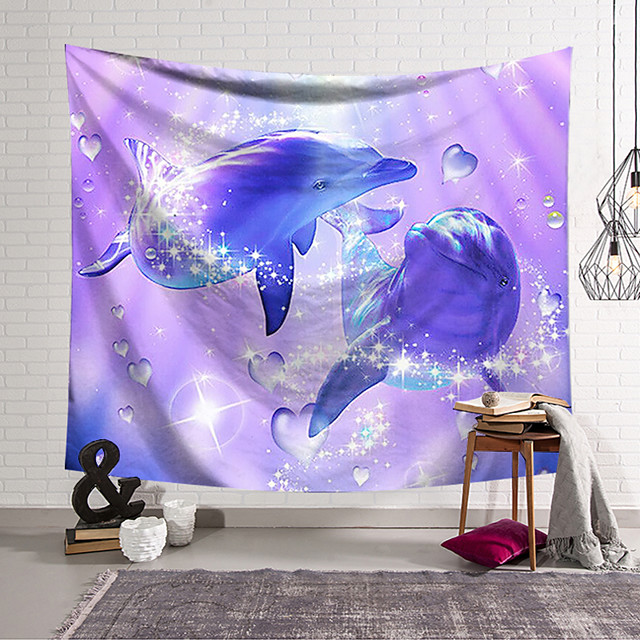 Wall Tapestry Art Decor Blanket Curtain Hanging Home Bedroom Living Room Decoration and Animal and Fantasy