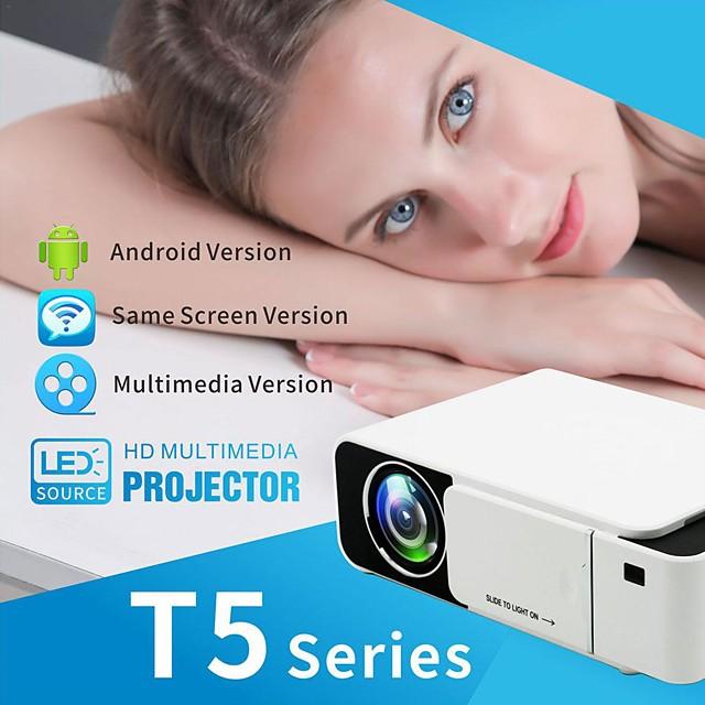 new t5 led projecteur 2500 lumens keystone usb hdmi vga av beamer home cinéma proyector