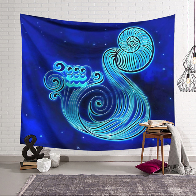 Wall Tapestry Art Decor Blanket Curtain Hanging Home Bedroom Living Room Decoration Polyester Nut