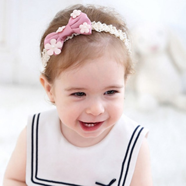 Girls' For Birthday Party Festival Bowknot Fabric Blushing Pink Burgundy 1pc
