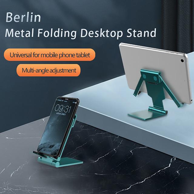Holder Desk Mount Stand Holder Foldable Adjustable Stand Aluminum Alloy / ABS