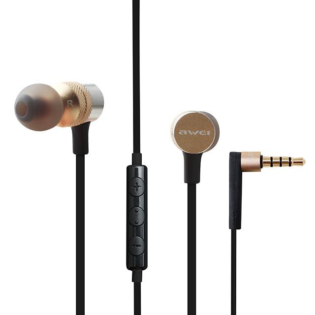 AWEI ES-10TY Auricolari in-ear cablato Jack audio da 3,5 mm PS4 PS5 XBOX Stereo Dotato di microfono Con il controllo del volume per Apple Samsung Huawei Xiaomi MI Cellulare