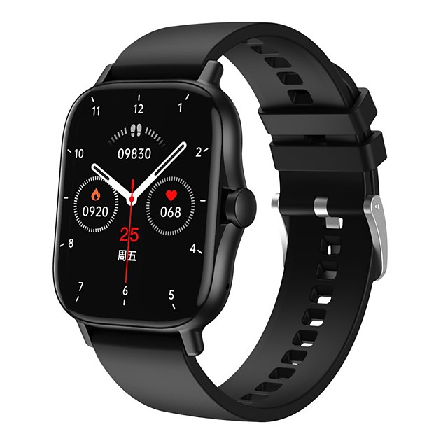 DW11 Unisex Smartwatch Bluetooth Heart Rate Monitor Blood Pressure Measurement Sports Calories Burned Health Care Stopwatch Pedometer Call Reminder Activity Tracker Sleep Tracker