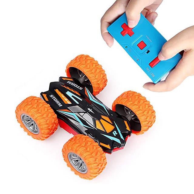 لعبة سيارات سيارة تعمل بالتحكم من بعد سرعة عالية قابلة لإعادة الشحن دوران360ْ تحكم عن بعد جهتين مضاعفتين بوجي (الطرق الوعرة) حيلة السيارات سيارة السباق 2.4G من أجل للأطفال للبالغين هدية