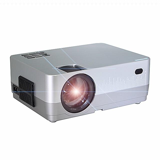HQ2 Mini projecteur Projecteur LED 500 lm Correction trapézoïdale