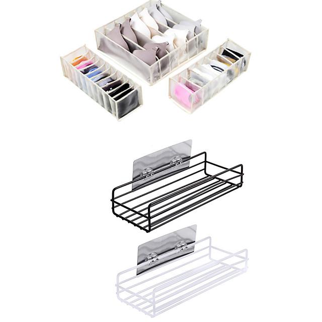 Self-adhesive / Storage / Multifunction Tools Mixed Material Modern Contemporary 5pcs - Bath Organization