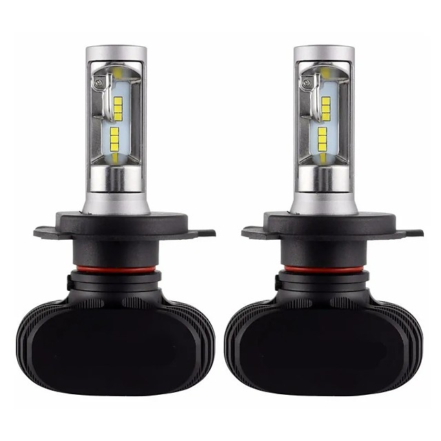 Car LED Headlamps Light Bulbs 8000 lm CSP 50 W For universal All years 2pcs
