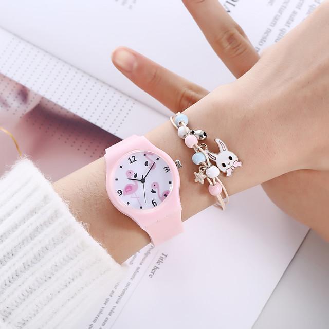 Women's Quartz Watches Analog Quartz Stylish Minimalist Creative / Silicone