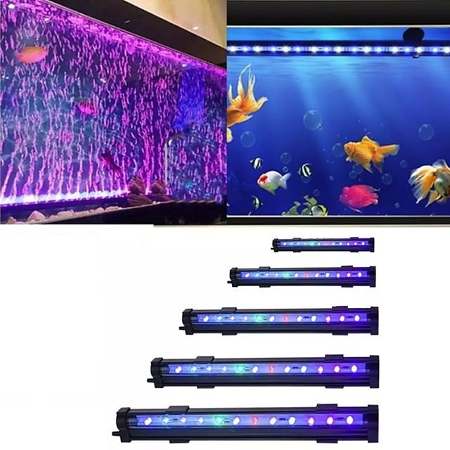 Luce dell'acquario Luci subacquee 1 pc Luce per acquario Multicolore Decorativo Materiale speciale 100-240 V