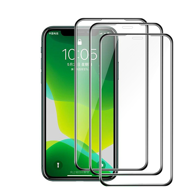 3PCS/5PCS Airbag Edge Tempered Glass Film For New IPhone 12 Pro IPhone 12 2020 IPhone 11 Pro Xr X Xs Max 7 6 8 Plus Screen Protector Film