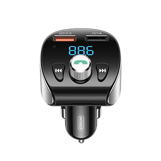 QC 3.0 / רכב MP3 אפנן / תצוגת לד 1חיבורUSB מטען בלבד 3 A
