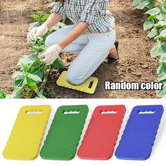 Portable étanche eva genouillère pad mousse épaisse genouillère tapis jardinage protection des genoux pour coussin de travail sportif