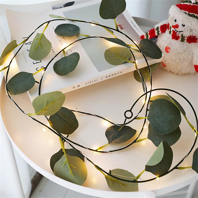 2m Guirlandes Lumineuses 20 LED 1 pc Blanc Chaud La Saint-Valentin Nouvel An Intérieur Soirée Décorative Piles AA alimentées