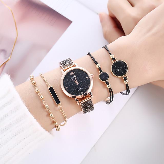 Women's Quartz Watches Analog Quartz Stylish Minimalist Creative / PU Leather