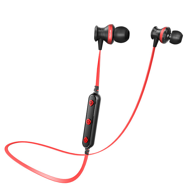 AWEI B980BL Neckband Headphone Bluetooth 4.2 Stereo with Microphone HIFI Waterproof IPX4 Auto Pairing for for Mobile Phone