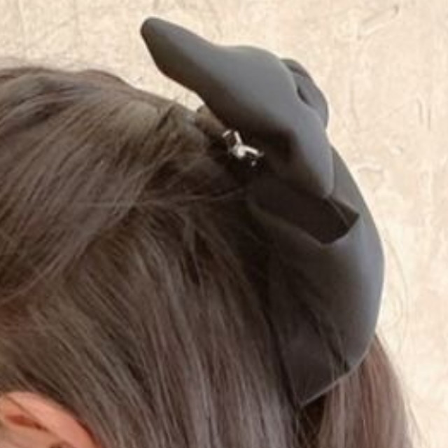 1pcs Kids Girls' Sweet Daily Wear Solid Colored Bow Chiffon Hair Accessories Black / Red One-Size