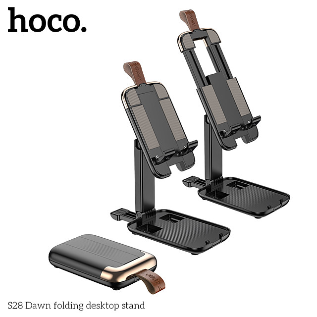 HOCO حامل و ماسك الجوال مقعد حامل قابل للتعديل نوع الإبزيم قابل للتعديل سبائك الألومنيوم ABS اكسسوارات الجوال