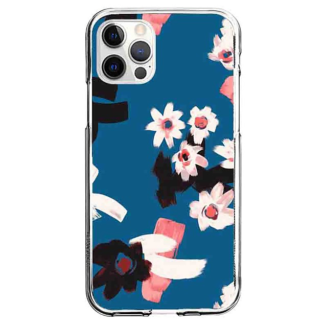 Scenery Floral Case For Apple iPhone 12 iPhone 11 iPhone 12 Pro Max Unique Design Protective Case Pattern Back Cover TPU