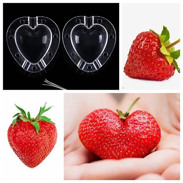 العفن المتزايد شكل قلب الفاكهة تشكيل التفاح العفن الخضار حديقة البلاستيك أداة