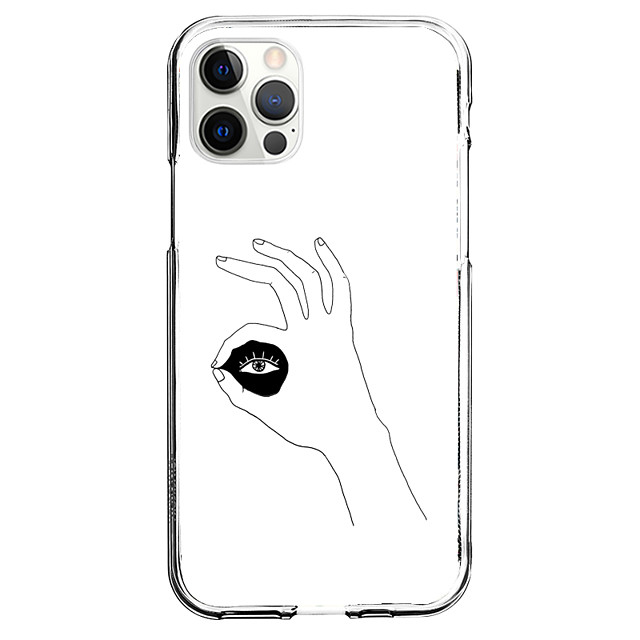 Creative Eye Case For Apple iPhone 12 iPhone 11 iPhone 12 Pro Max Unique Design Protective Case Pattern Back Cover TPU